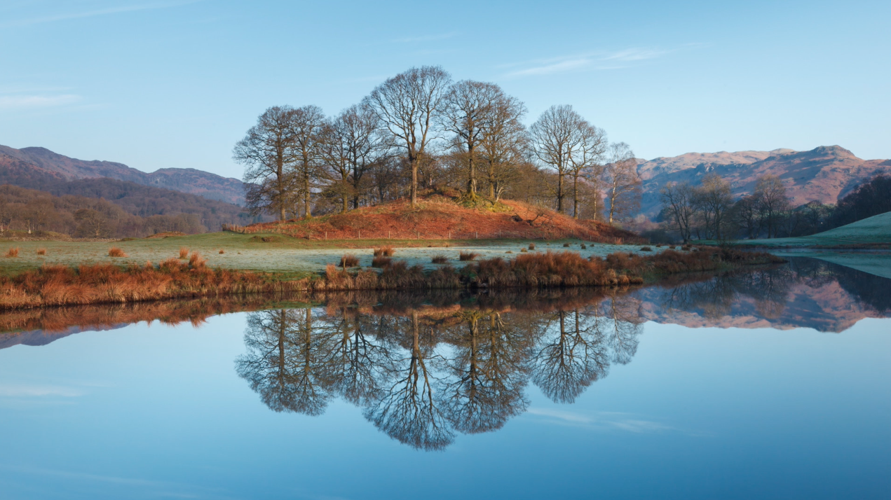 The English Lake District - photo by Mike Bell.