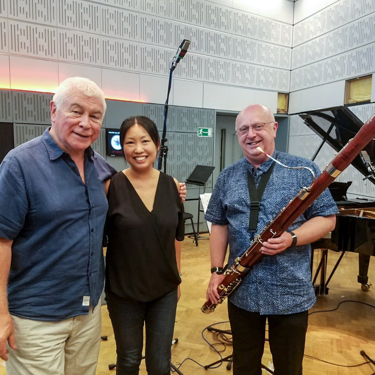With Sean Rafferty and Louisa Lam, BBC Radio 3 'In Tune'