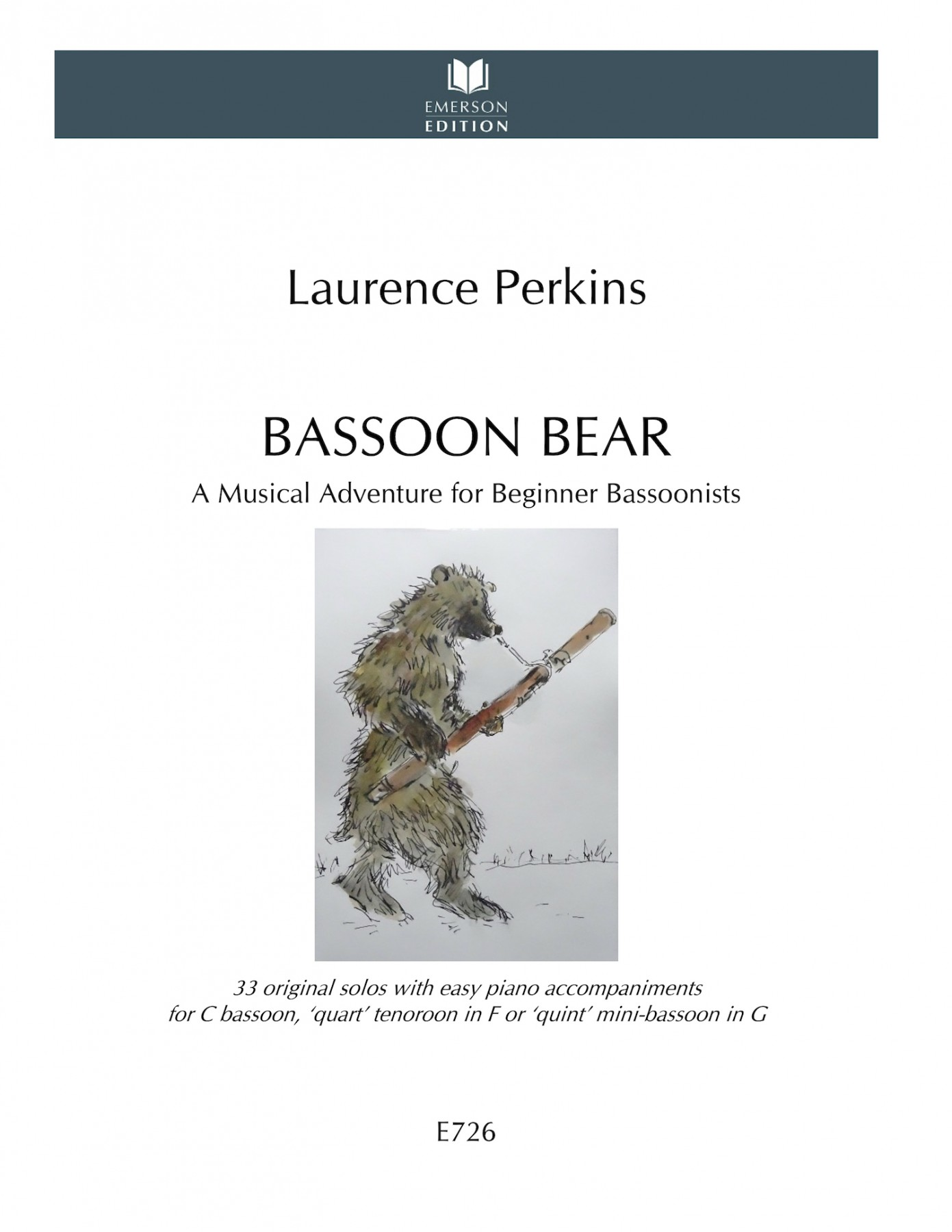 Bassoon Bear cover LR