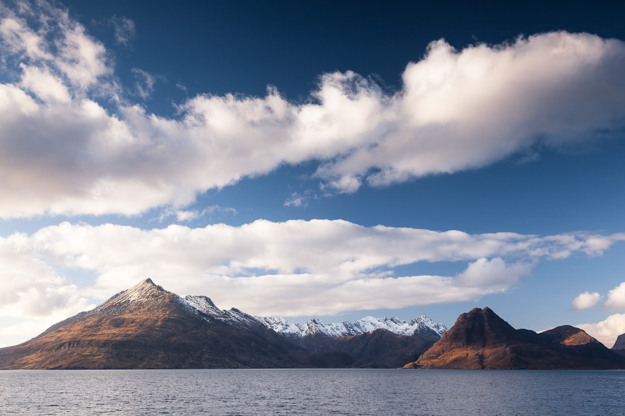 The Cuillin mountains on Skye (photo by Mike Bell)