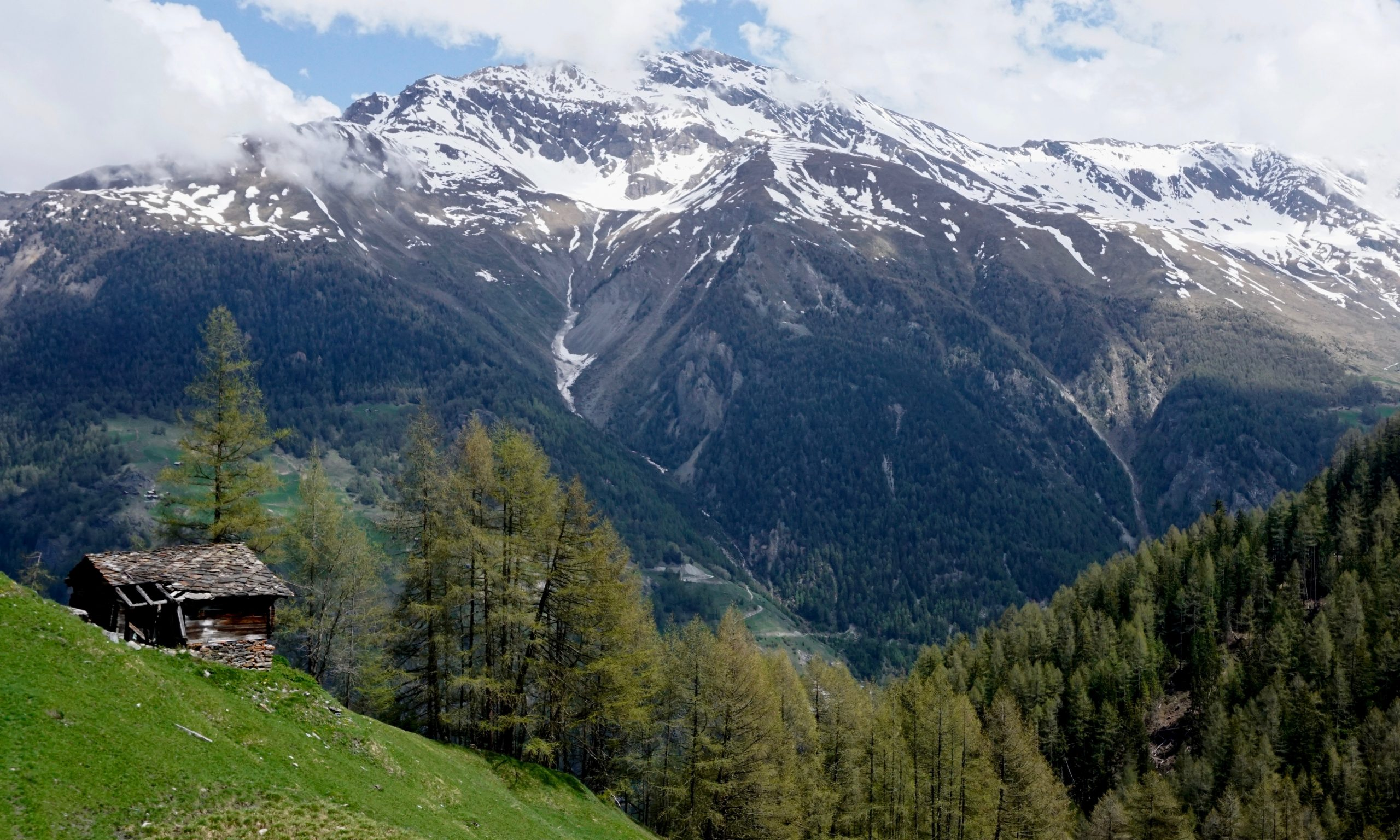 The Val d'Herens, in the Valais region of Switzerland (photo by LP)