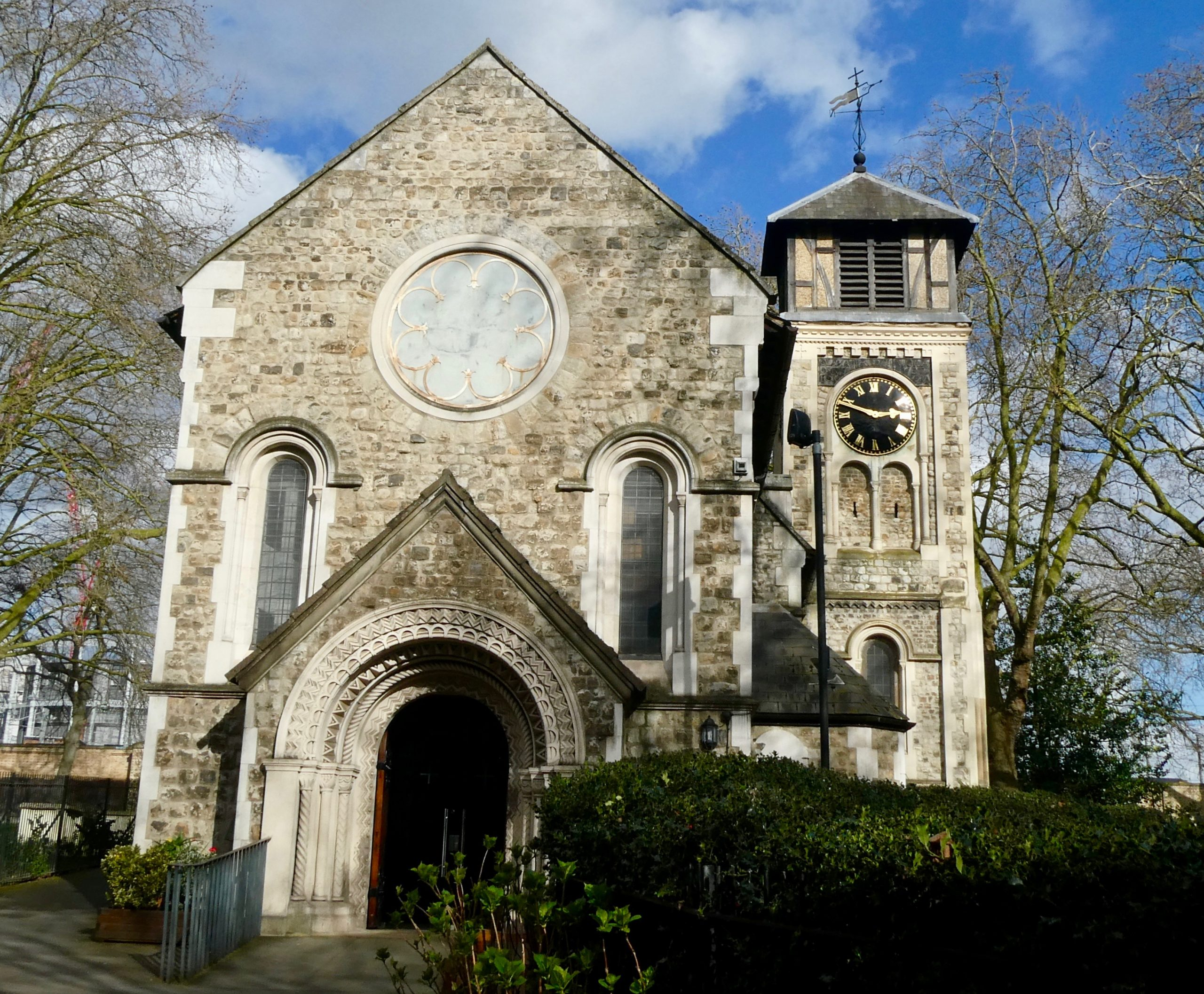 St Pancras Old Church, London