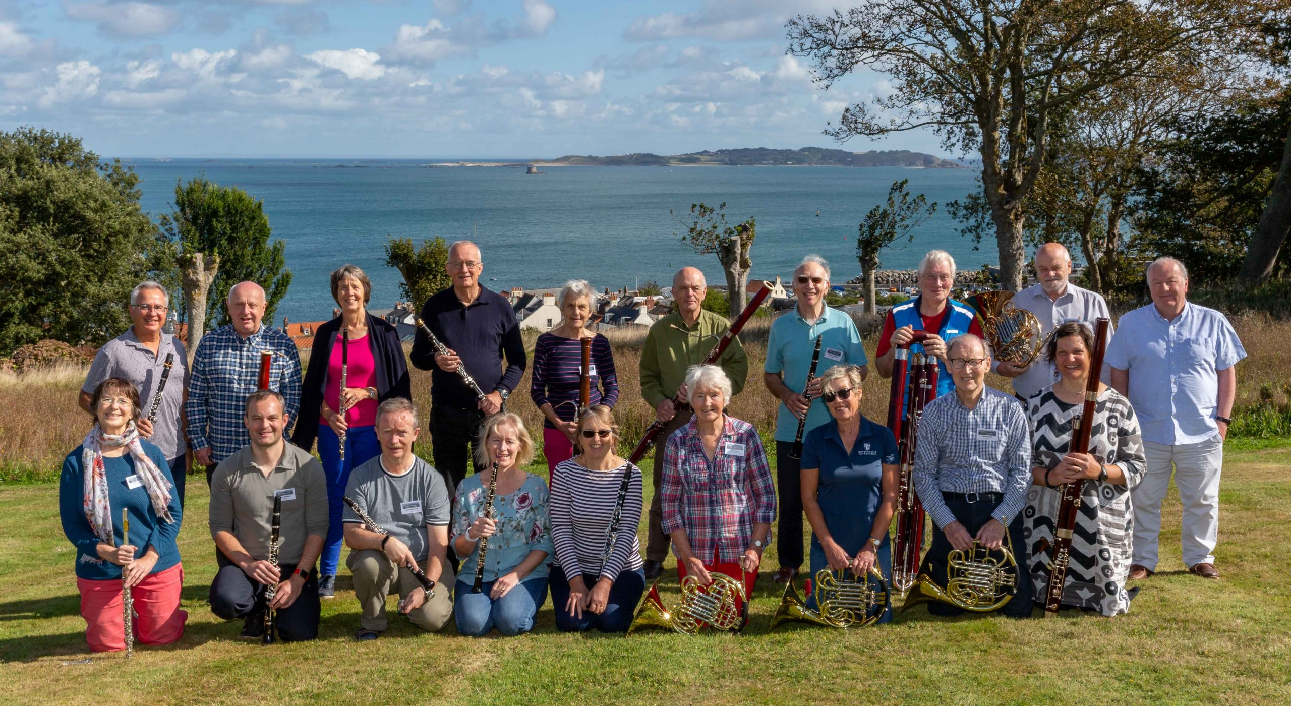 Wind Serenades in Guernsey, September 2021. [Photo: Chris Jeffery]